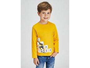 Žluté triko SKATER Mayoral