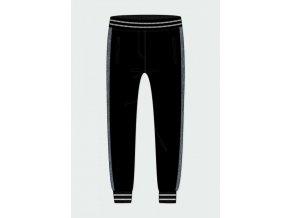 Černé teplákové kalhoty Boboli