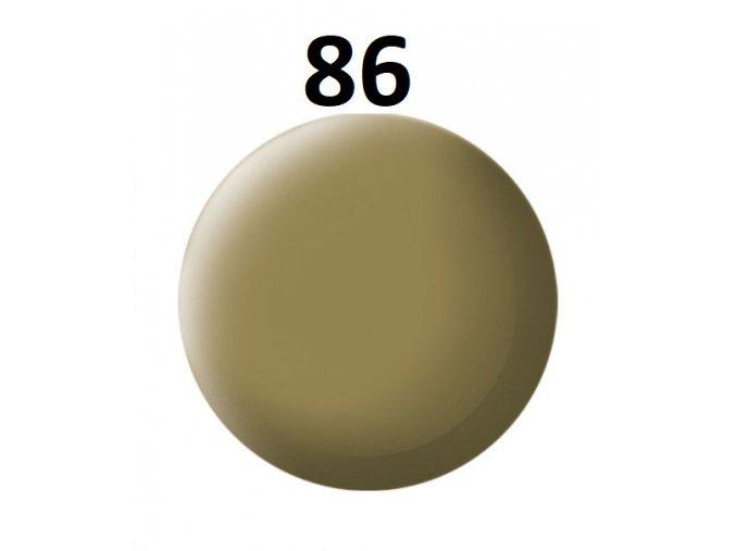 Revell barva (86) akrylová nebo emailová (olive brown mat)