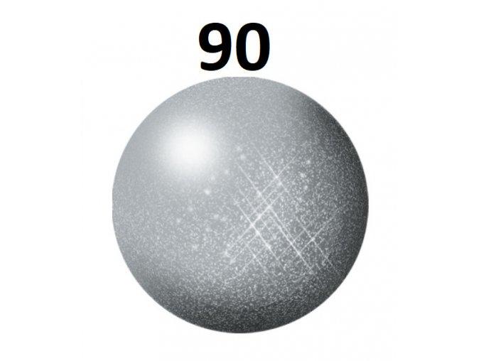 Revell barva (90) akrylová nebo emailová (silver metallic)