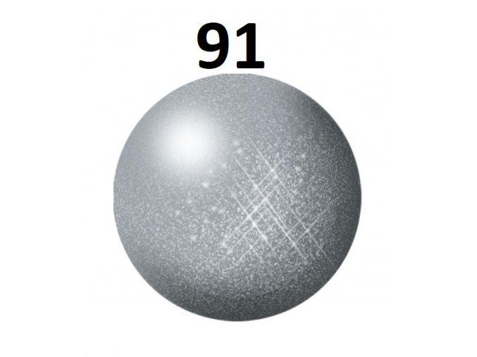 Revell barva (91) akrylová nebo emailová (steel metallic)