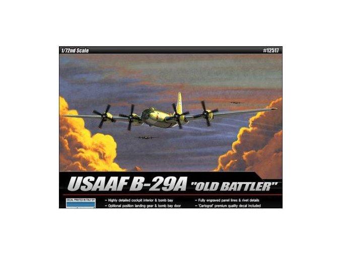 Academy letadlo B-29a Old Battler 1:72 12517