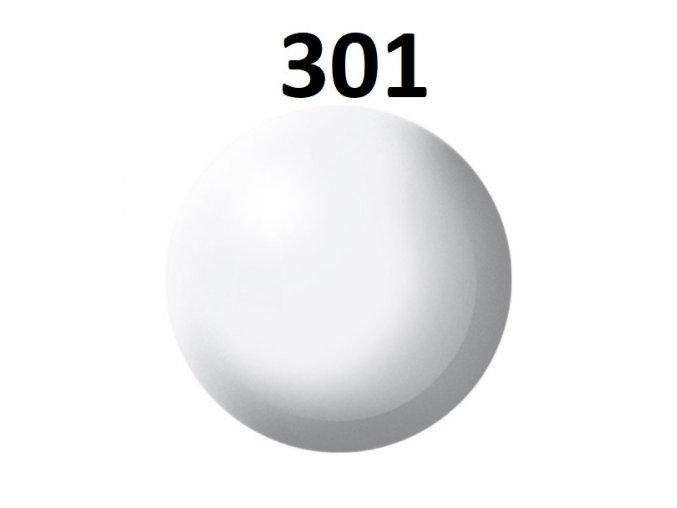 Revell barva (301) akrylová nebo emailová (white silk)