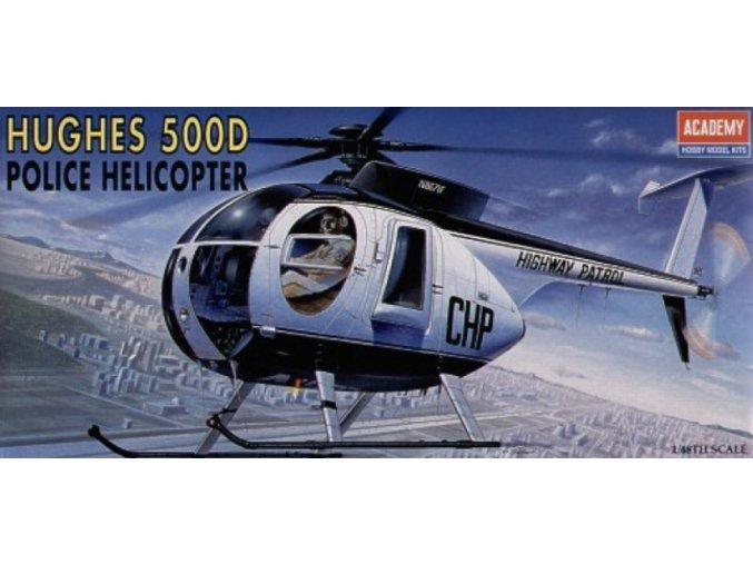 Academy vrtulník Hughes 500D 1:48 1643