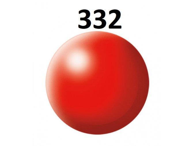 Revell barva (332) akrylová nebo emailová (luminous red silk)