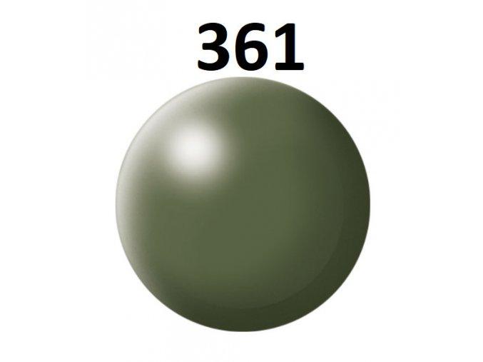 Revell barva (361) akrylová nebo emailová (olive green silk)