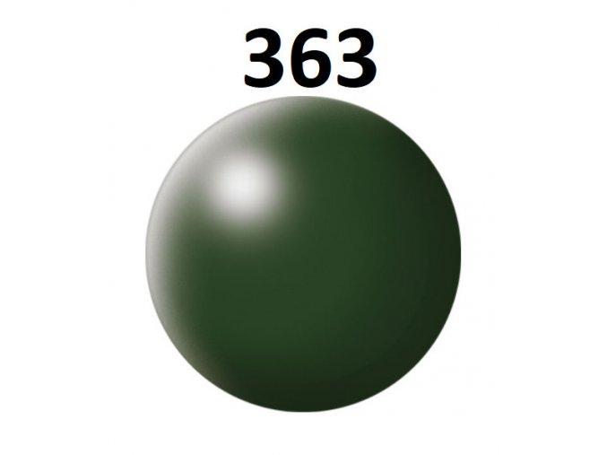 Revell barva (363) akrylová nebo emailová (dark green silk)