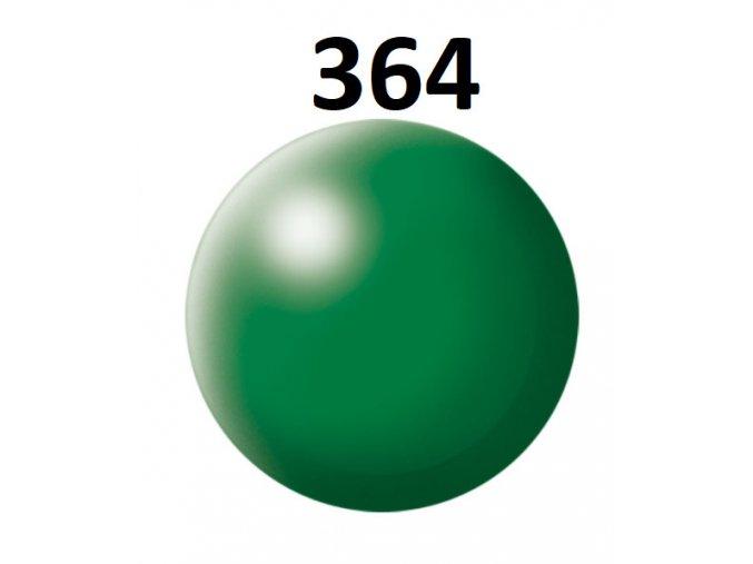 Revell barva (364) akrylová nebo emailová (leaf green silk)