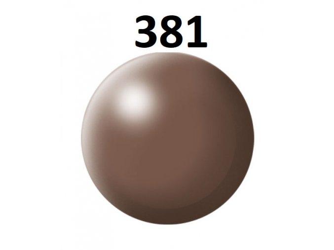 Revell barva (381) akrylová nebo emailová (brown silk)