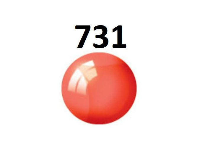 Revell barva (731) akrylová nebo emailová (red clear)