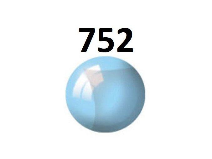 Revell barva (752) akrylová nebo emailová (blue clear)
