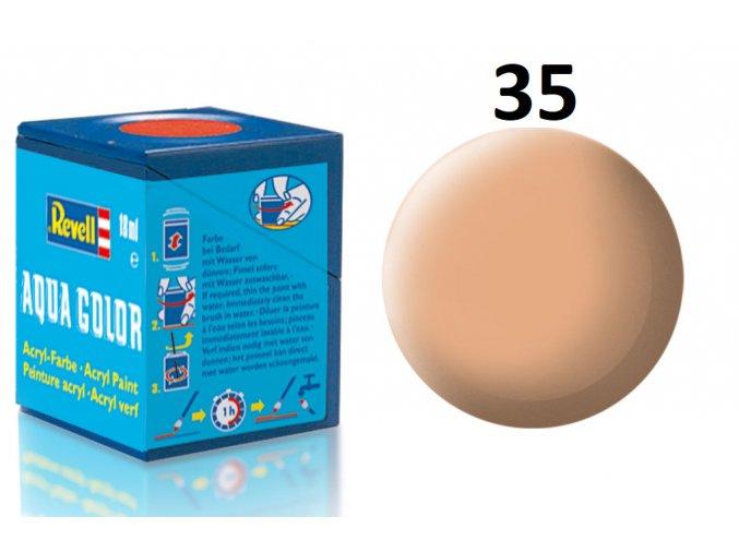 Revell barva akrylová - 36135: matná tělová (flesh mat)