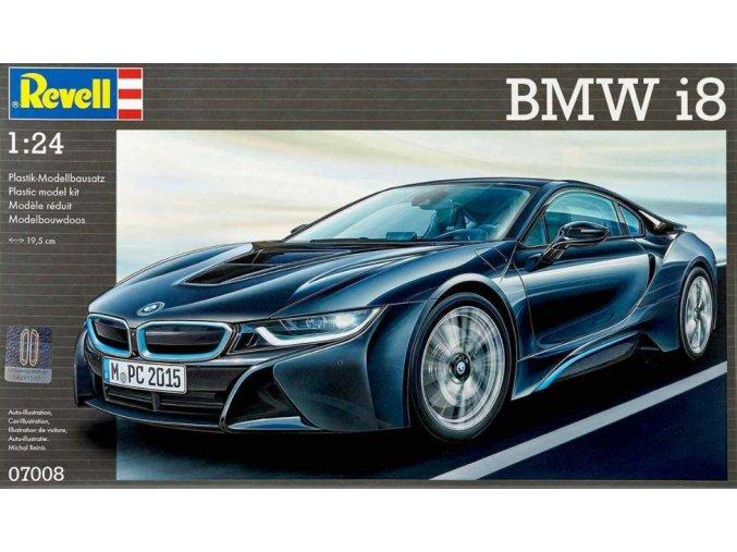 Revell auto BMW i8 1:24 07008