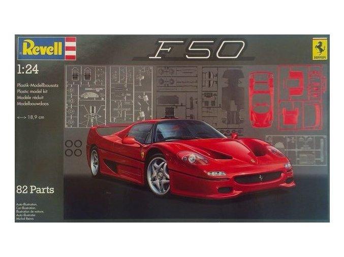 Revell auto Ferrari F 50 Coupé 1:24 07370