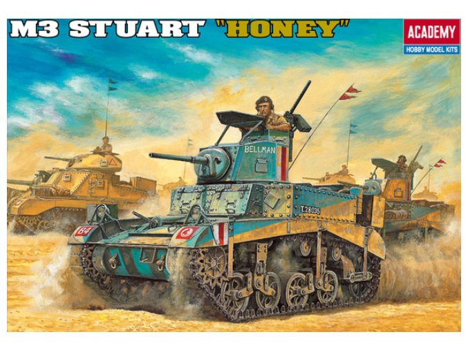 Academy tank M3 Stuart Honey 1:35 13270