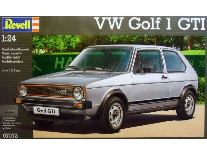 Revell auto VW Golf 1 GTI 1:24 07072