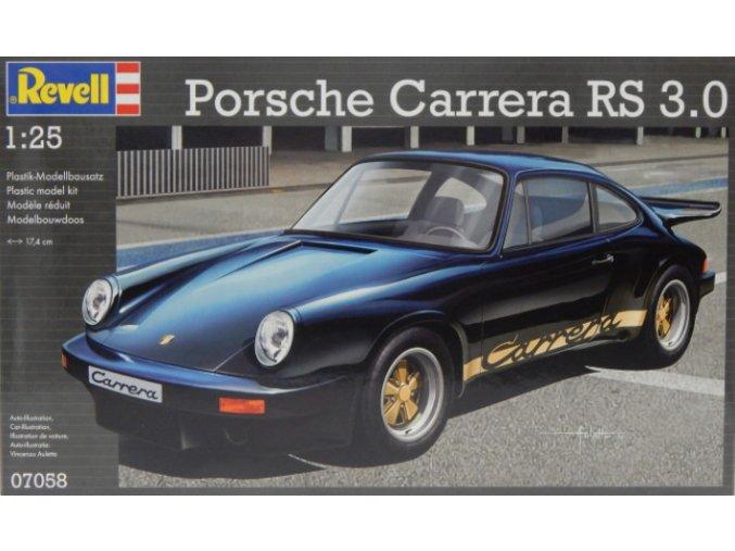 REVELL AUTO PORSCHE CARRERA RS 3.0 (BLACK) 1:24 07058