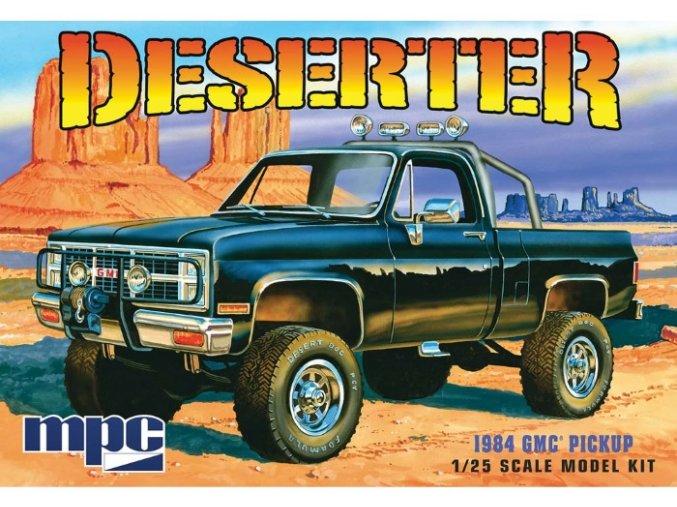 MPC GMC Pickup 1984 Deserter 1:25 MPC847
