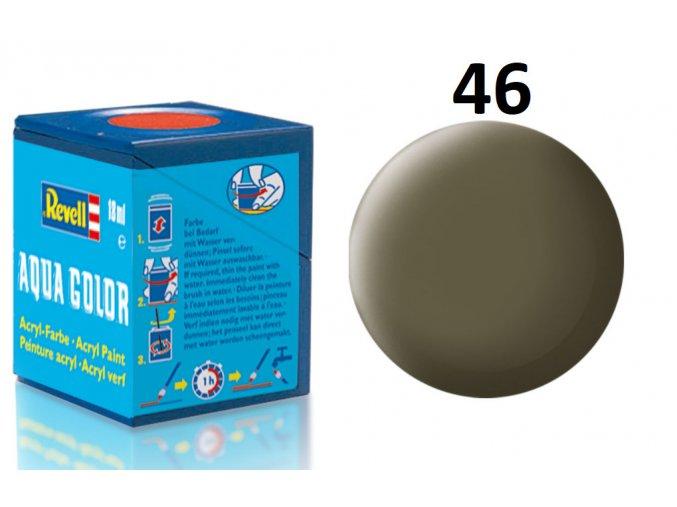 Revell barva akrylová - 36146: matná olivová NATO (nato olive mat)