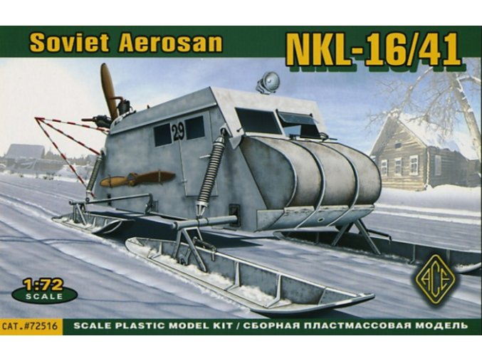 ACE NKL-16/41 Soviet Aerosan 1:72 72516