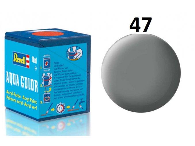 Revell barva akrylová - 36147: matná myší šedá (mouse grey mat)