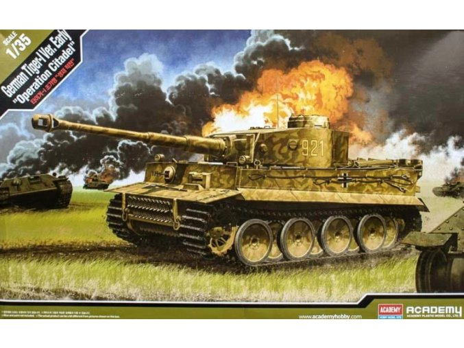 Academy tank Tiger 1 Ver. Early Operation Citadel 1:35 13509