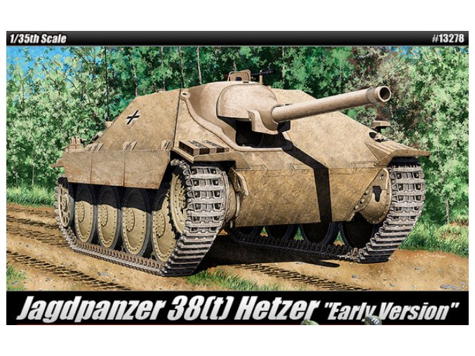 Academy tank Jagdpanzer 38(t) Hetzer Early Version 1:35 13278