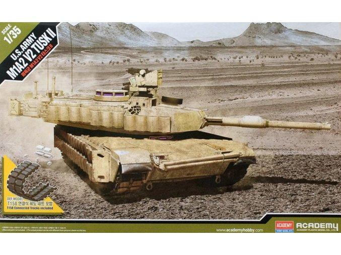 Academy tank U.S. Army M1A2 V2 Tusk II 1:35 13504