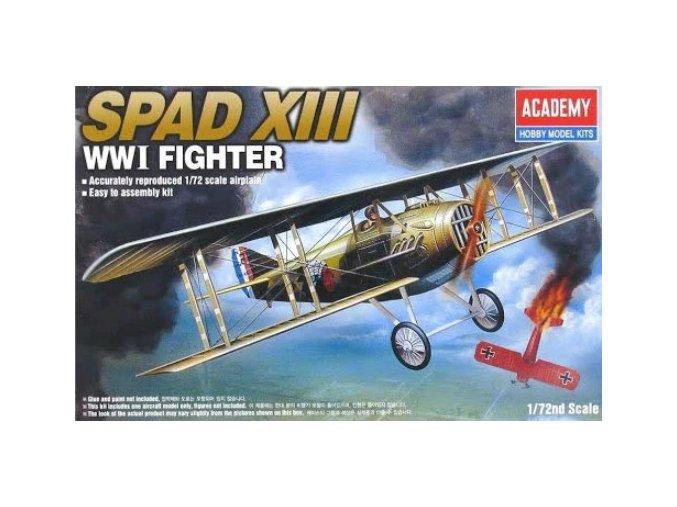 Academy letadlo WWI SPAD XIII 1:72 12446