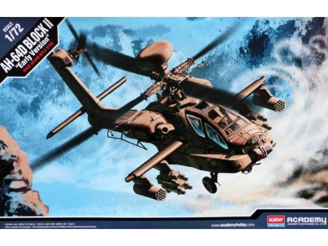 Academy vrtulník AH-64D BLOCK II Early Version 1:72 12514