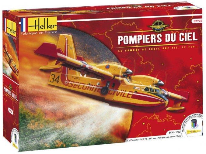 Heller letadlo Canadair CL-415 model-set 1:72 52702