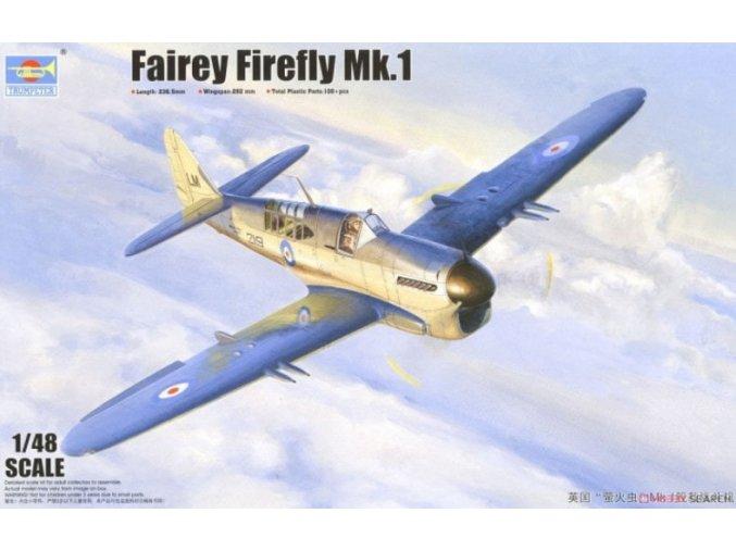 Trumpeter letadlo Fairey Firefly Mk.1 1:48 05810