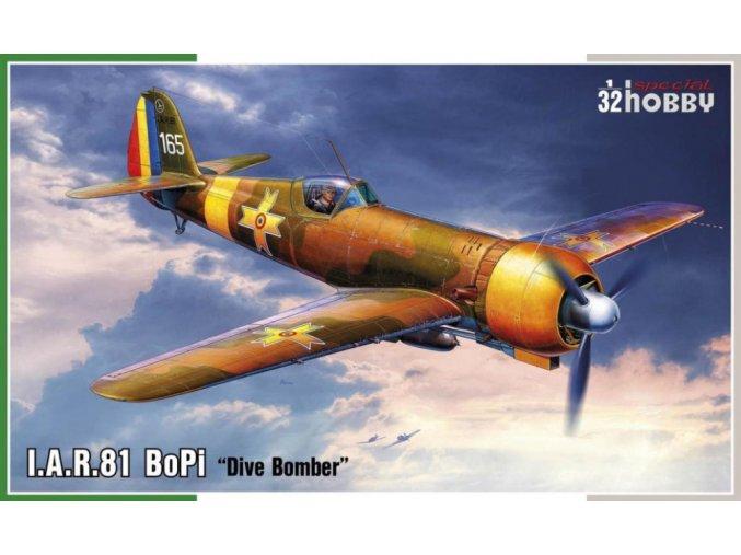 Special Hobby letadlo I.A.R. 81 BoPi Dive Bomber 1:32 32073