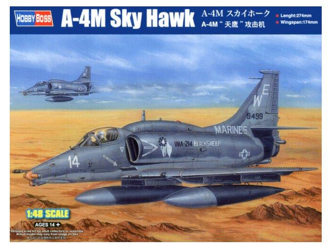 Hobby Boss letadlo A-4M Sky Hawk 1:48 81766