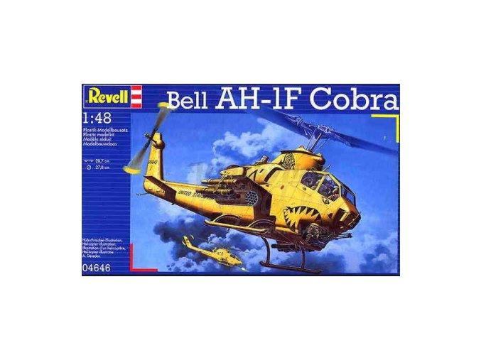 Revell vrtulník Bell AH-1F Cobra 1:48 04646