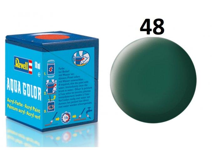 Revell barva akrylová - 36148: matná mořská zelená (sea green mat)
