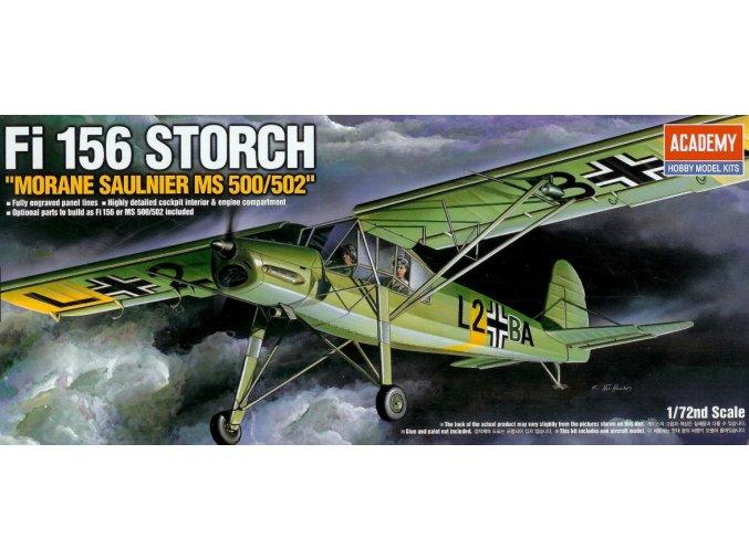 Academy letadlo Fi156 Storch 1:72 12459