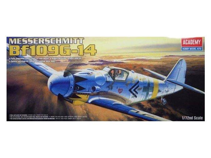 Academy letadlo Messerschmitt Bf 109G-14 1:72 12454