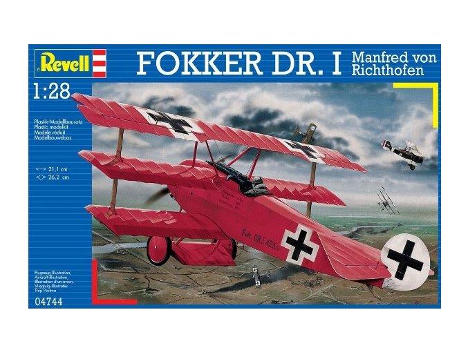 Revell letadlo Fokker Dr. I 1:28 04744