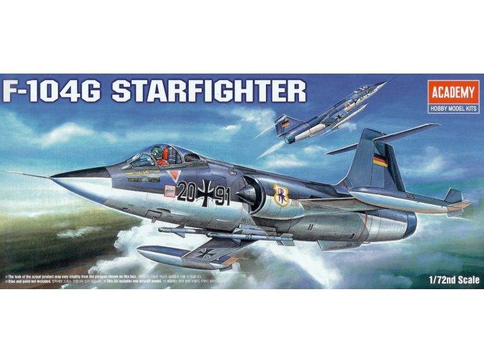 Academy letadlo F-104G Starfighter 1:72 12443