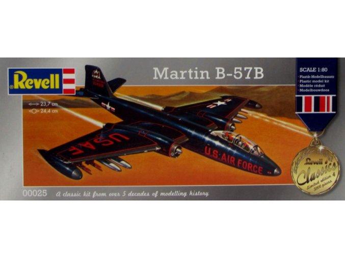 Revell letadlo Martin B-57B 1:80 00025