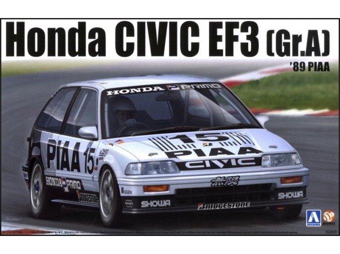 Aoshima Honda Civic EF3 89 PIAA 1:24 84588