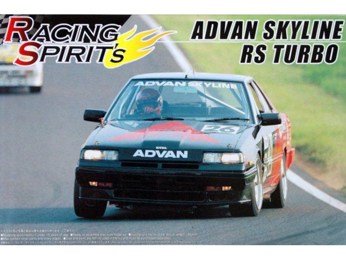 Aoshima Nissan Skyline RS Turbo 1:24 42823