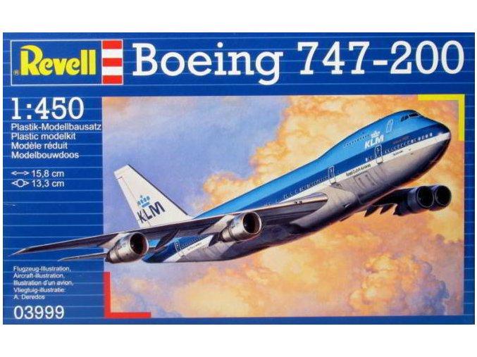 Revell letadlo Boeing 747-200 1:450 03999