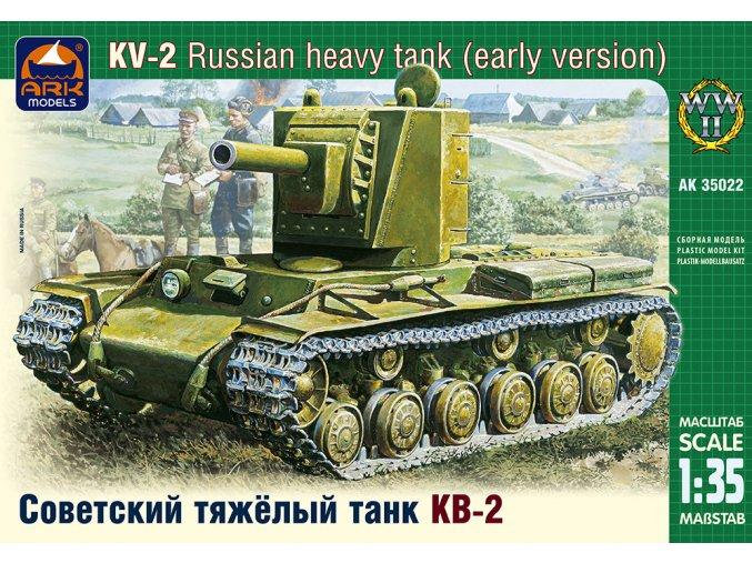 ARK Models KV-2 Russian heavy tank 1:35 35022