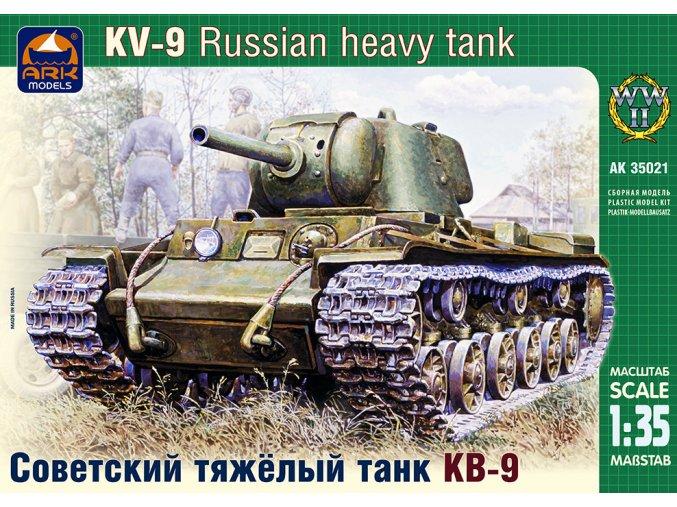 ARK Models KV-9 Russian heavy tank 1:35 35021