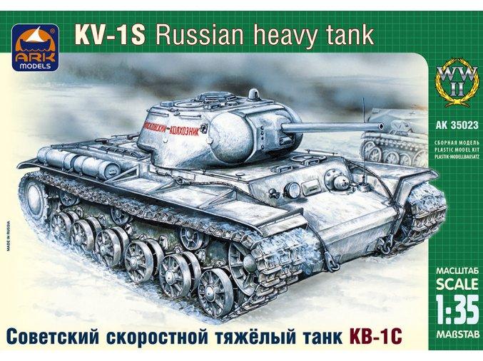 ARK Models KV-1S Russian high-speed heavy tank 1:35 35023