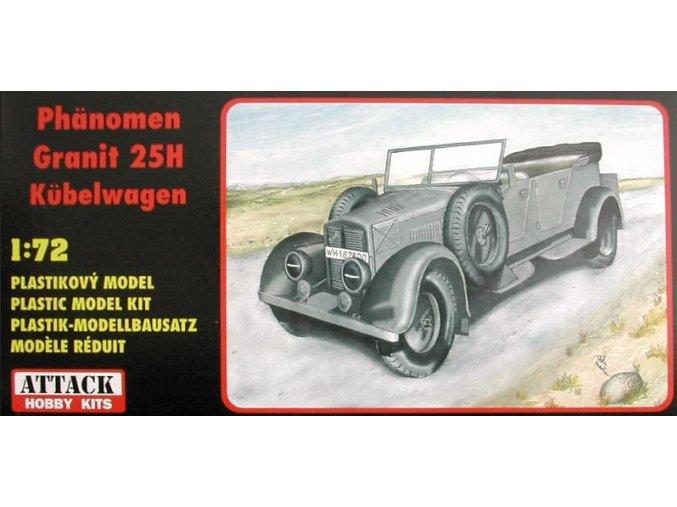 ATTACK Phänomen Granit 25H Kübelwagen 1:72 72823