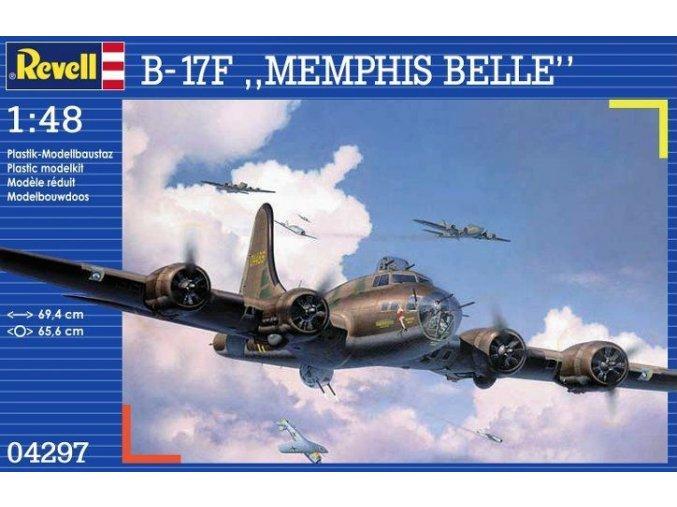 Revell letadlo Boeing B-17F Flying Fortress Memphis Belle 1:48 04297