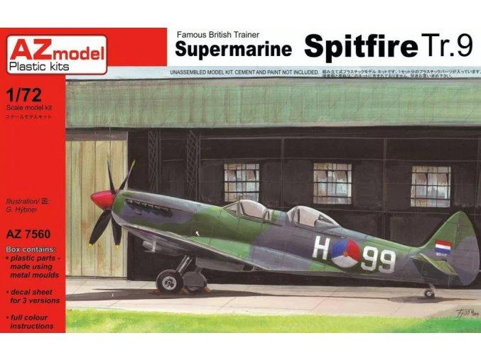 AZ model Supermarine Spitfire Tr.9 1:72 AZ 7560